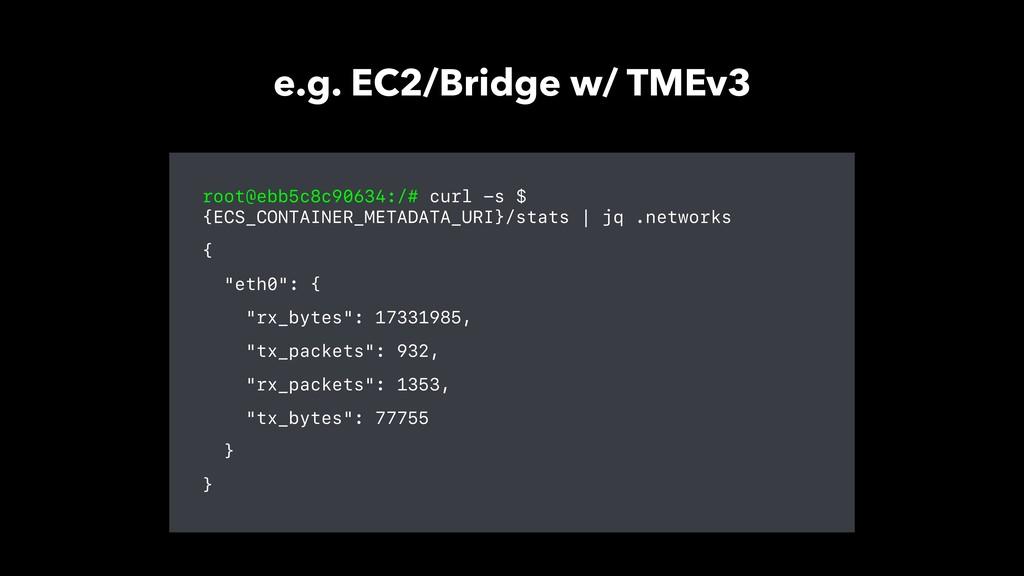 root@ebb5c8c90634:/# curl -s $ {ECS_CONTAINER_M...