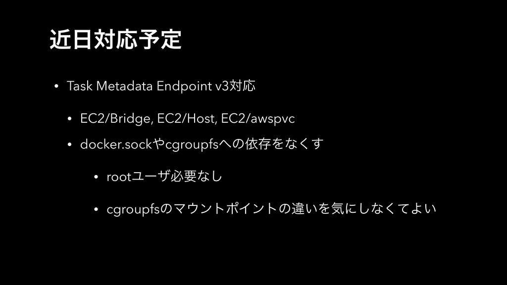 ۙରԠ༧ఆ • Task Metadata Endpoint v3ରԠ • EC2/Brid...