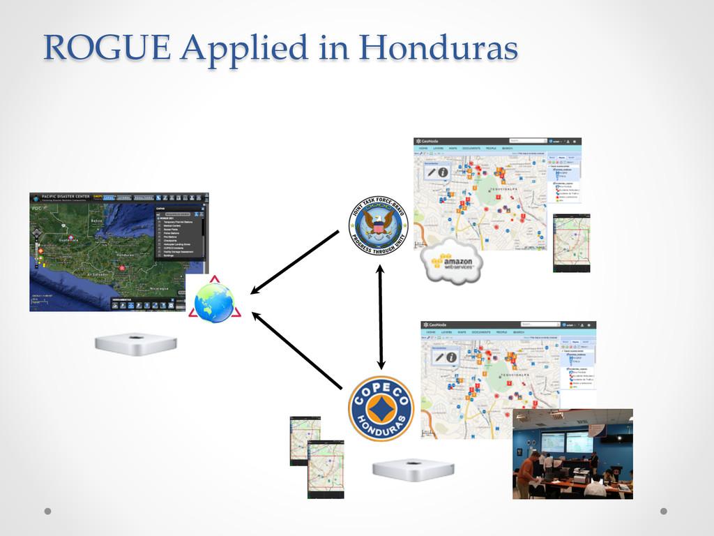 ROGUE Applied in Honduras