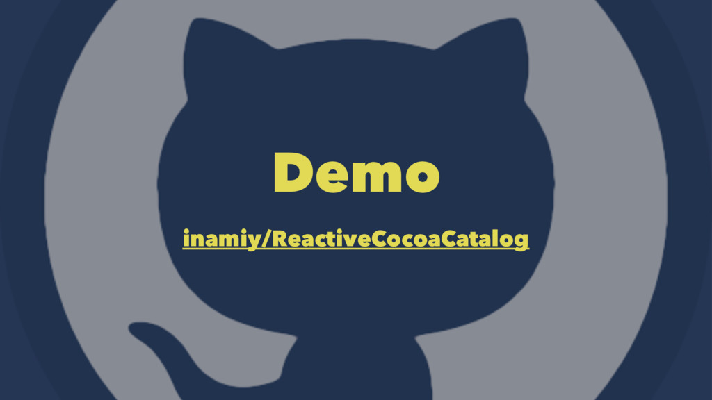 Demo inamiy/ReactiveCocoaCatalog