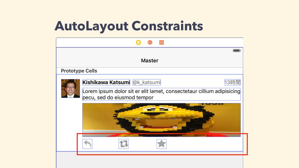 AutoLayout Constraints