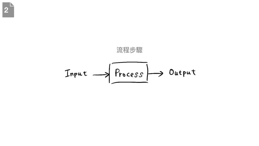 流程步驟 2