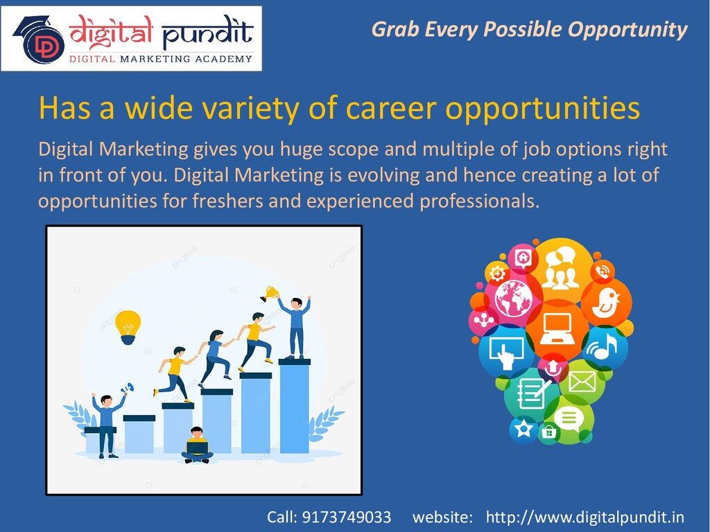 Has a wide variety of career opportunities Grab...