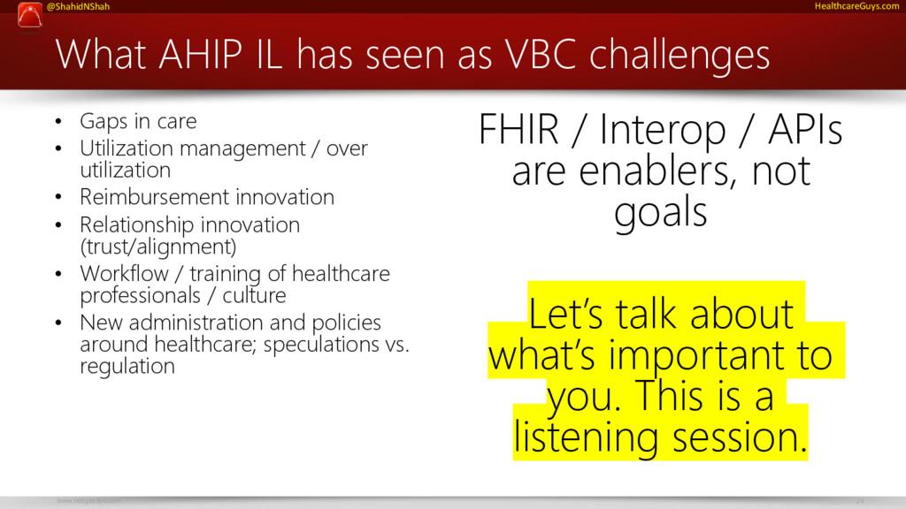 www.netspective.com 24 @ShahidNShah HealthcareG...