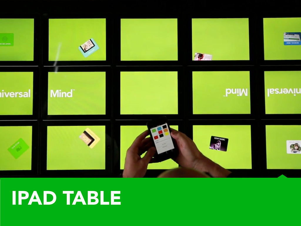 IPAD TABLE