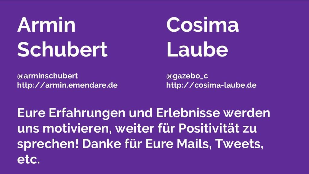 Armin Schubert @arminschubert http://armin.emen...