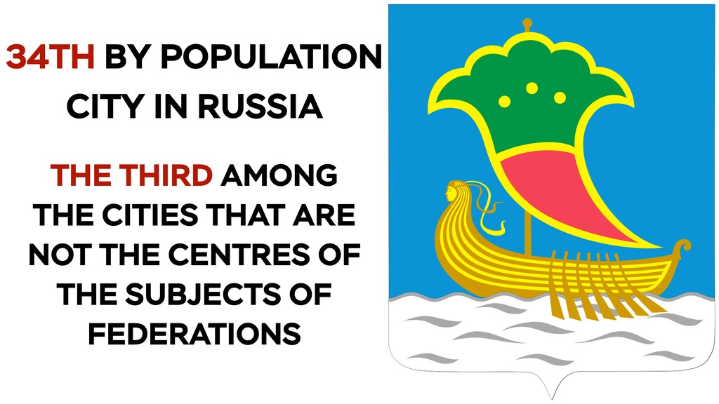 34TH BY POPULATION CITY IN RUSSIA THE THIRD AMO...