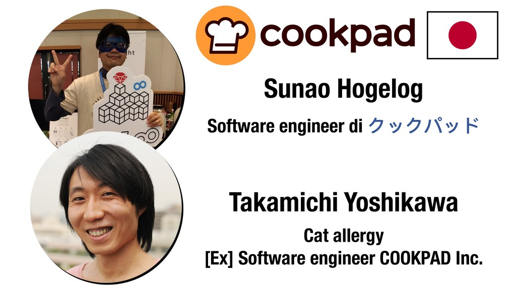 Takamichi Yoshikawa Cat allergy [Ex] Software e...