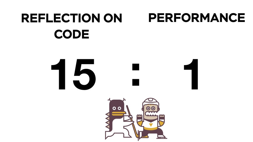 PERFORMANCE REFLECTION ON CODE 15 1 :