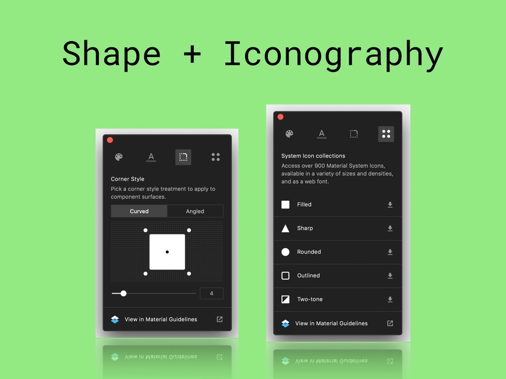 Shape + Iconography