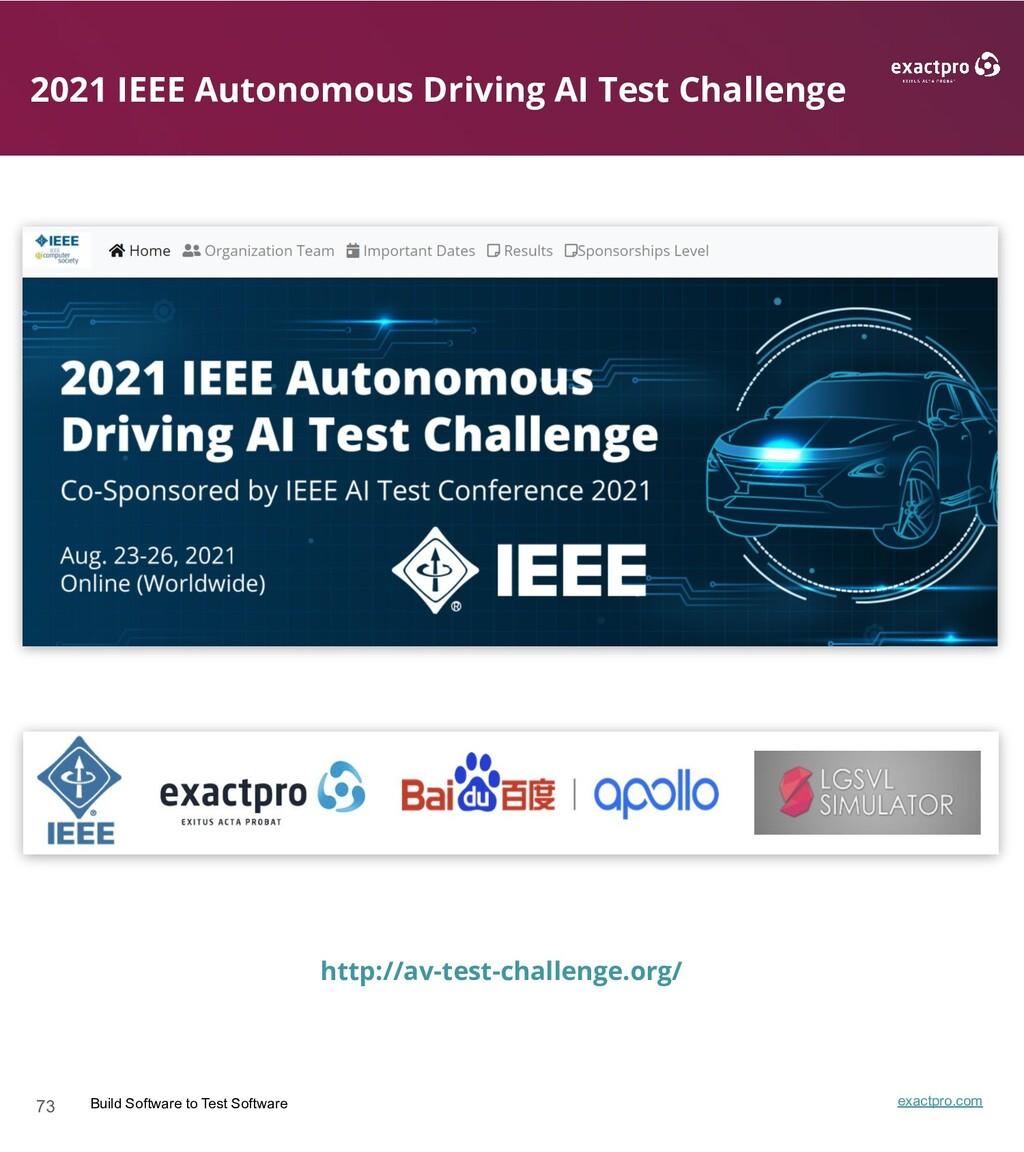 73 Build Software to Test Software exactpro.com...