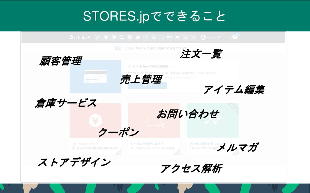 2019 STORES.jp, Inc., All Rights Reserved 6 STO...