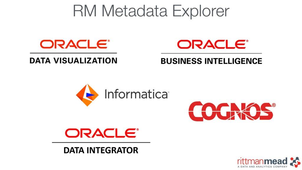 RM Metadata Explorer