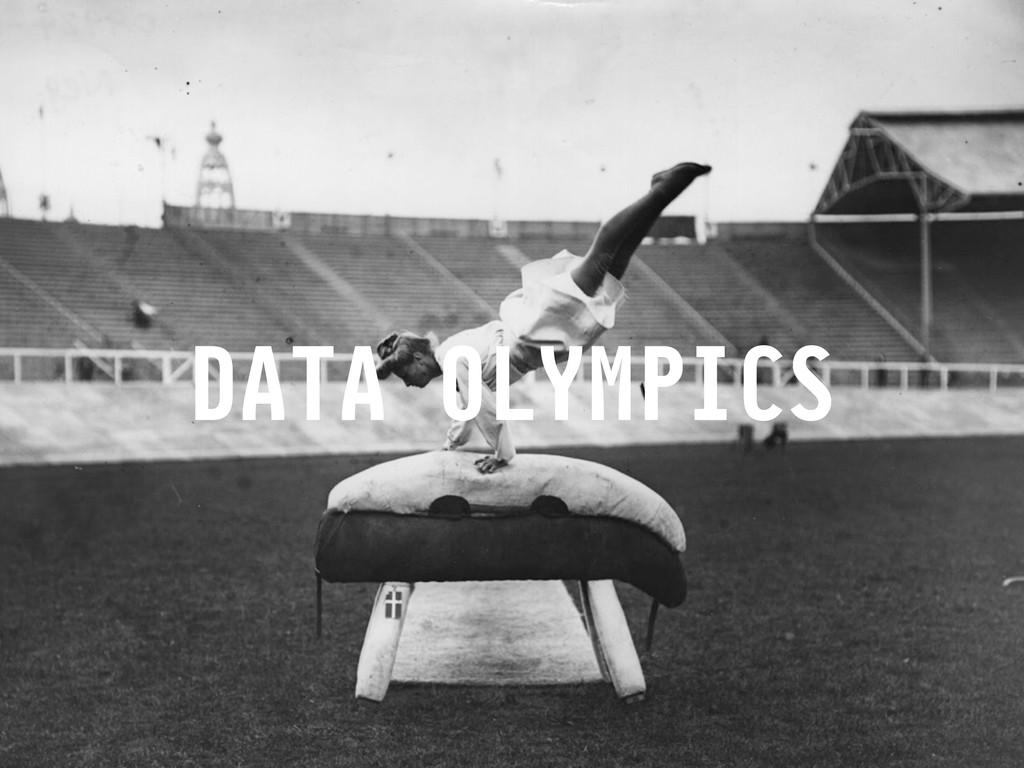 DATA OLYMPICS