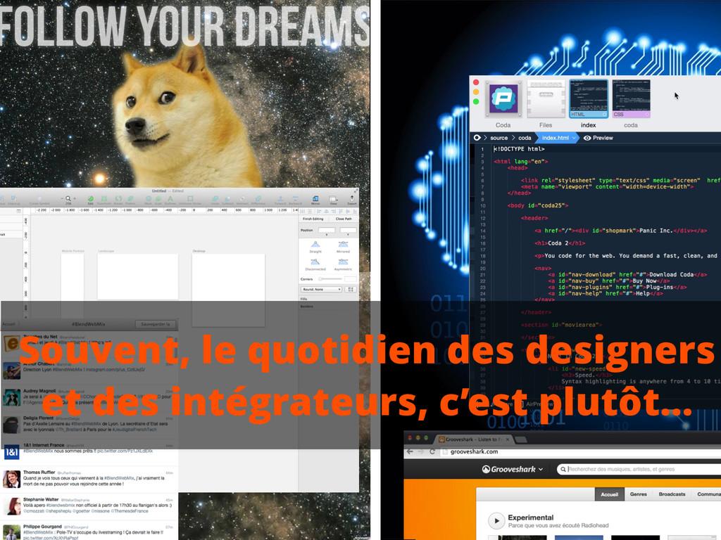Souvent, le quotidien des designers et des inté...