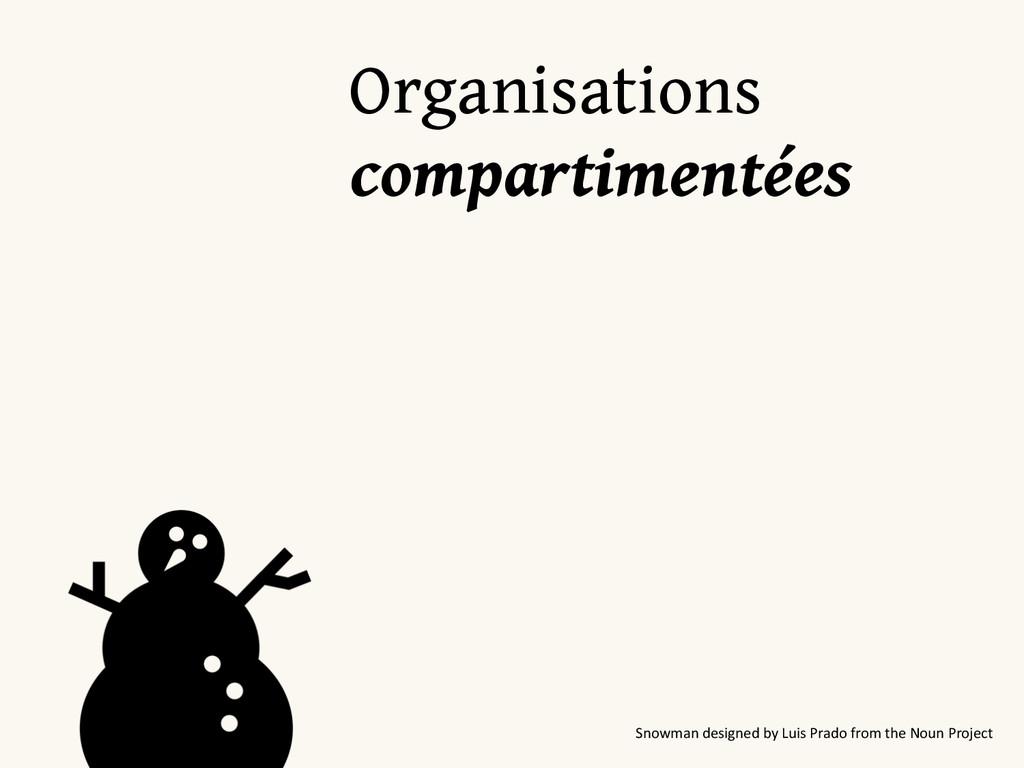 Organisations compartimentées Snowman desig...