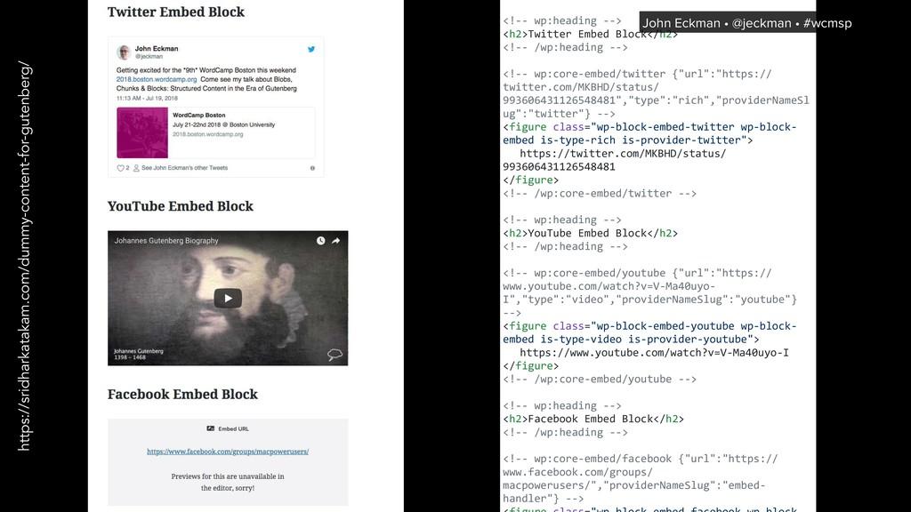 <!-- wp:heading --> <h2>Twitter Embed Block</h2...