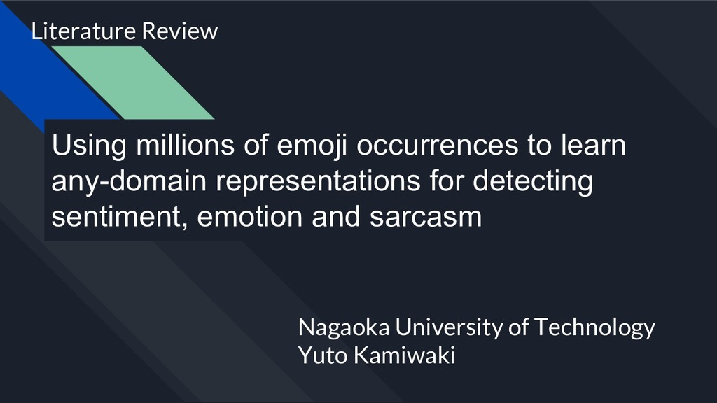 Using millions of emoji occurrences to learn an...