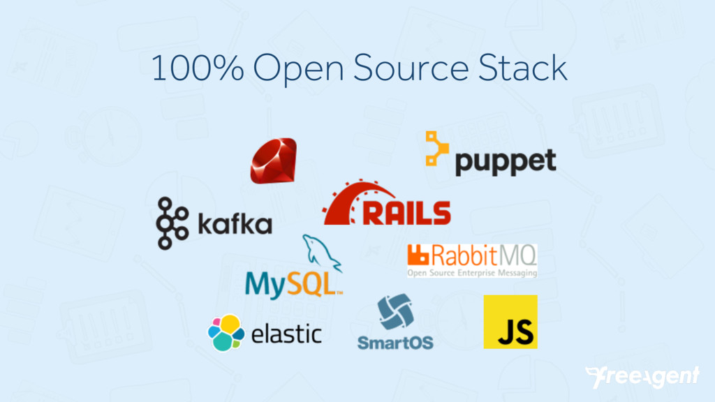 100% Open Source Stack
