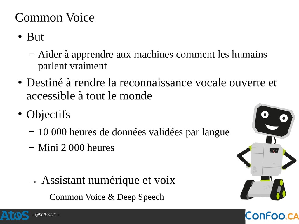 - @hellosct1 – Common Voice ● But – Aider à app...
