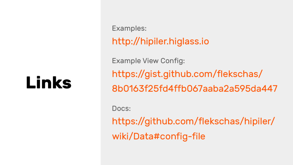 Links Examples: http:/ /hipiler.higlass.io Exam...