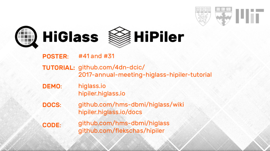 HiGlass HiPiler POSTER: TUTORIAL: