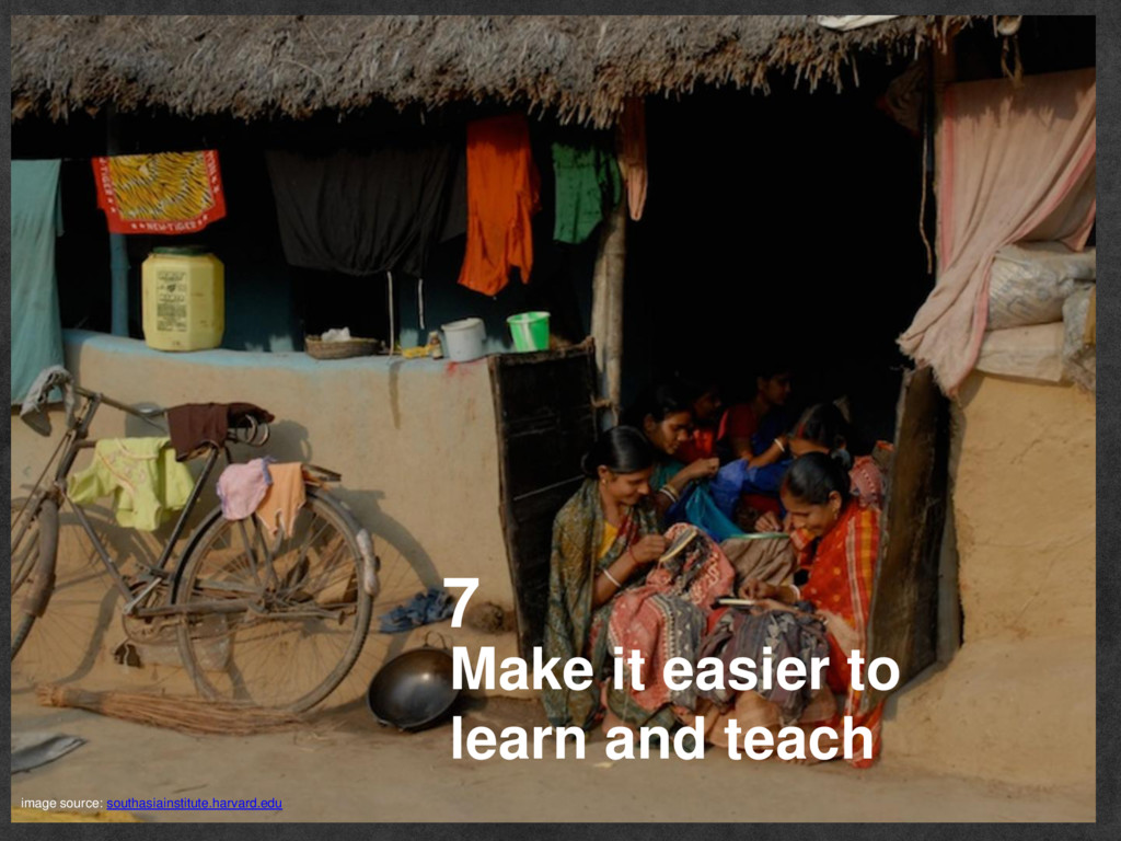 Make it easier to learn and teach 7 image sourc...