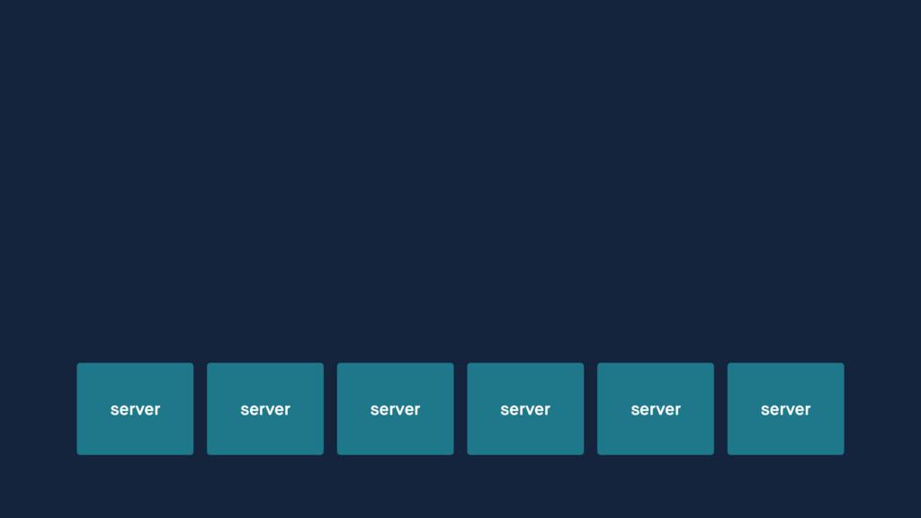 server server server server server server