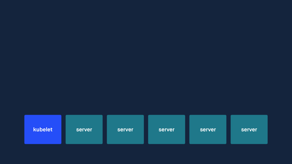 server server server server server kubelet