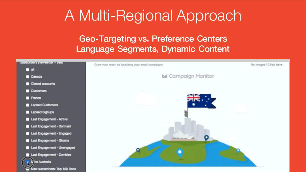 Geo-Targeting vs. Preference Centers Language S...