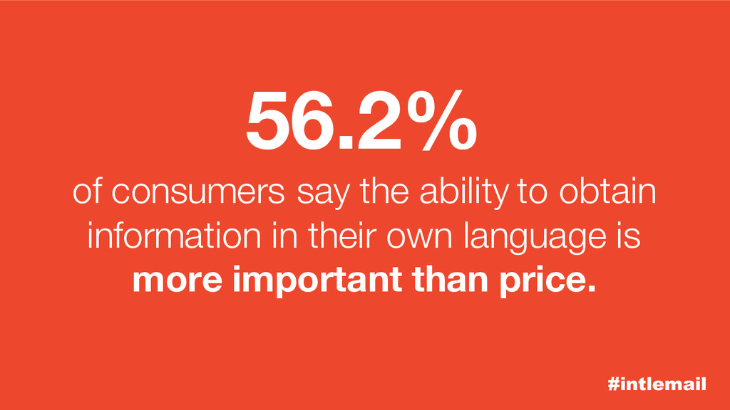 #intlemail 56.2% of consumers say the ability t...
