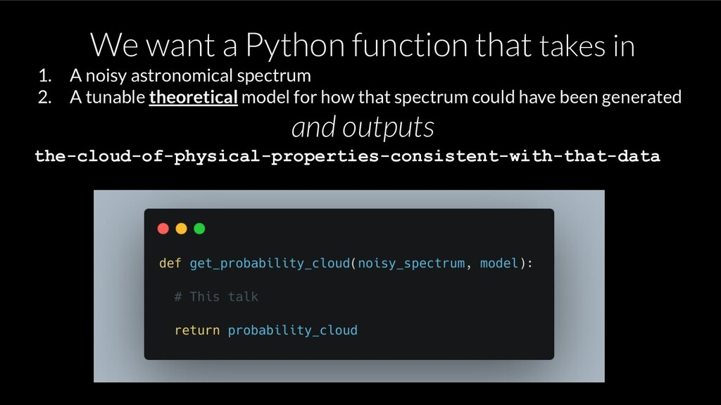We want a Python function that takes in 1. A no...