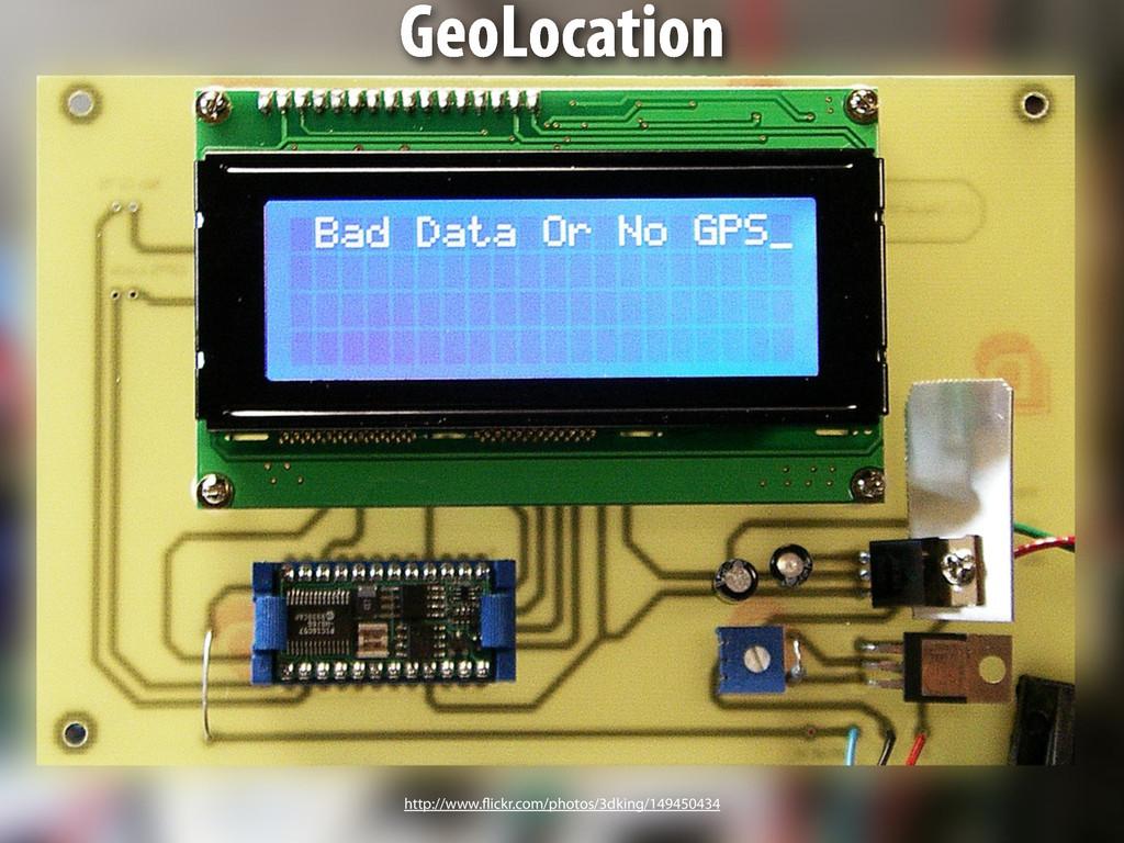 GPS GeoLocation http://www.flickr.com/photos/3d...