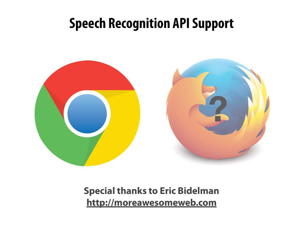 Special thanks to Eric Bidelman http://moreawes...