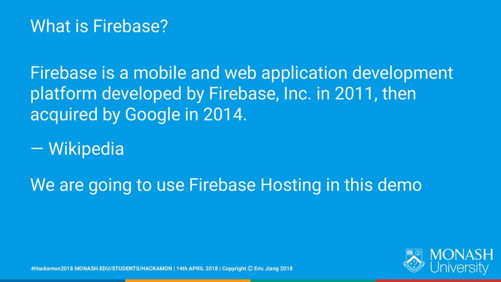 What is Firebase? Firebase is a mobile and web ...