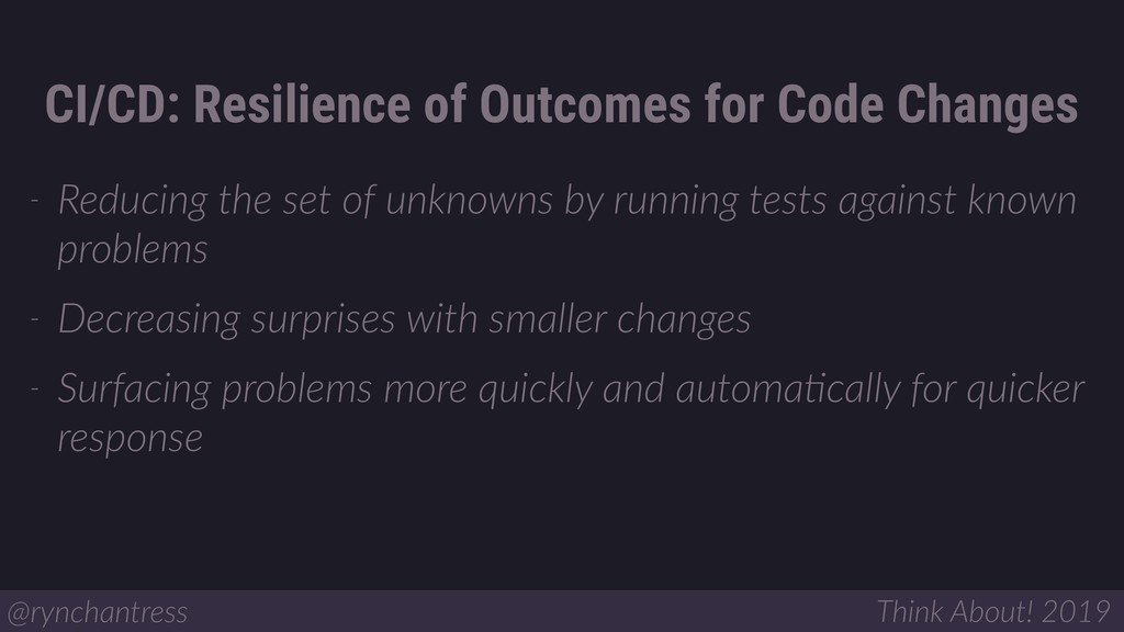 - Reducing the set of unknowns by running tests...