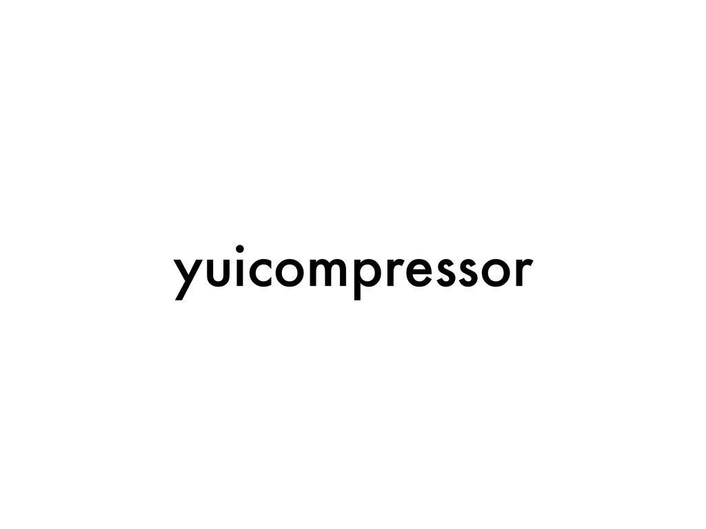 yuicompressor