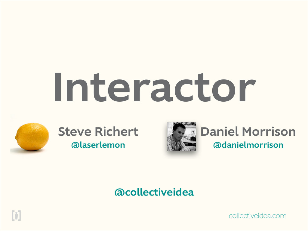 collectiveidea.com Interactor Steve Richert @la...