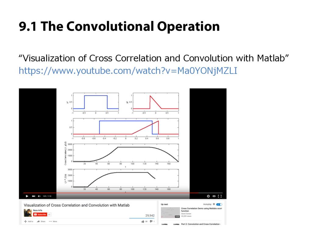 "9.1 The Convolutional Operation ""Visualization ..."