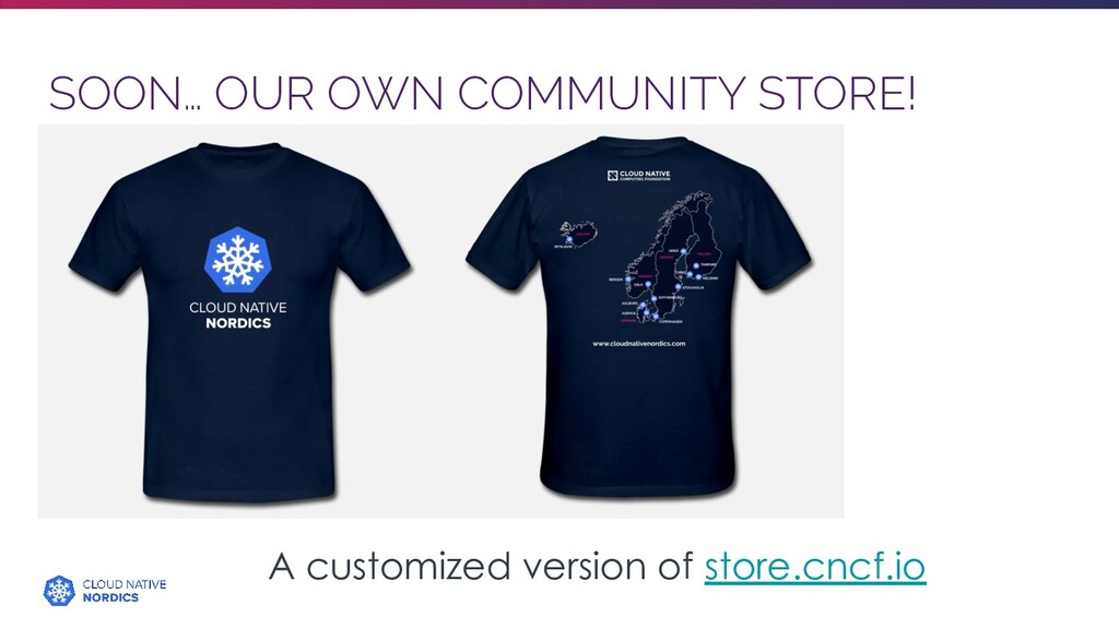 SOON… OUR OWN COMMUNITY STORE! A customized ver...