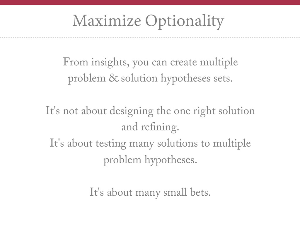 From insights, you can create multiple problem ...
