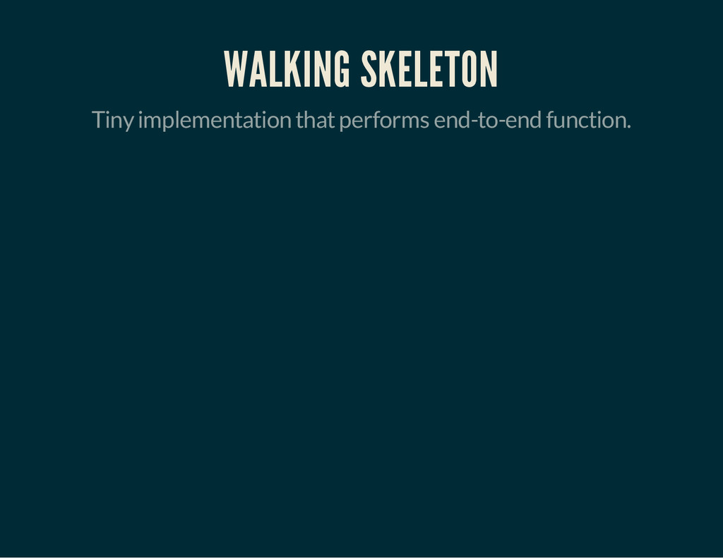 WALKING SKELETON Tiny implementation that perfo...