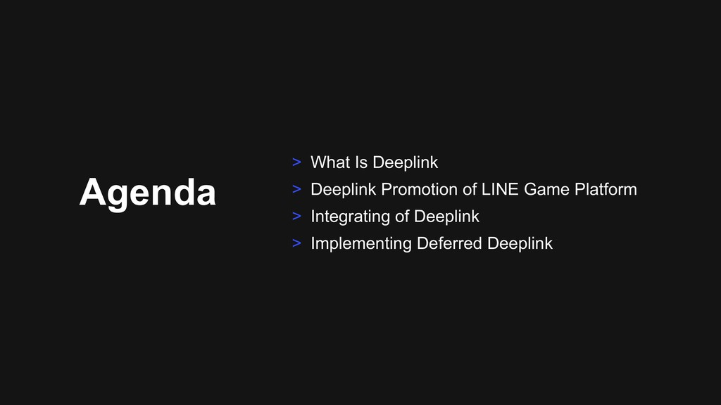Agenda > What Is Deeplink > Deeplink Promotion ...