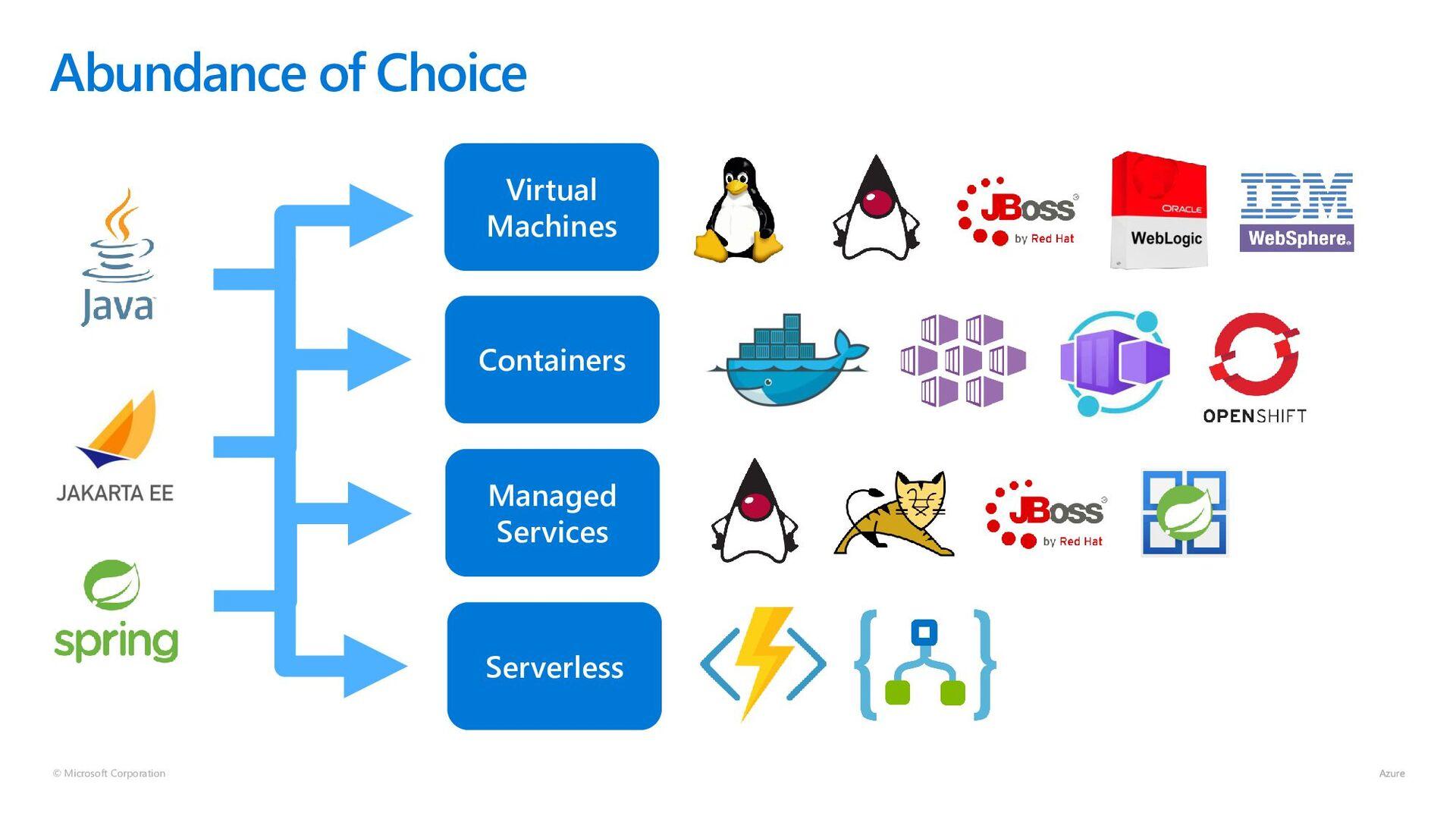 © Microsoft Corporation Abundance of Choice Vir...