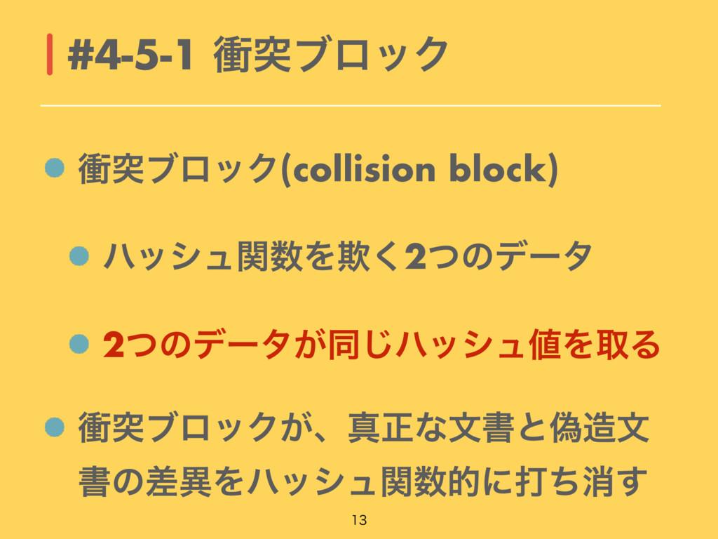 িಥϒϩοΫ(collision block) ϋογϡؔΛٗ͘2ͭͷσʔλ 2ͭͷσʔλ͕...
