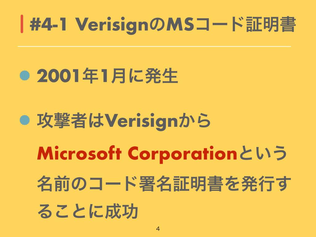 20011݄ʹൃੜ ߈ܸऀVerisign͔Β Microsoft Corporation...