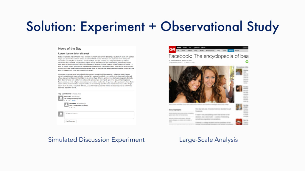 Simulated Discussion Experiment Large-Scale Ana...