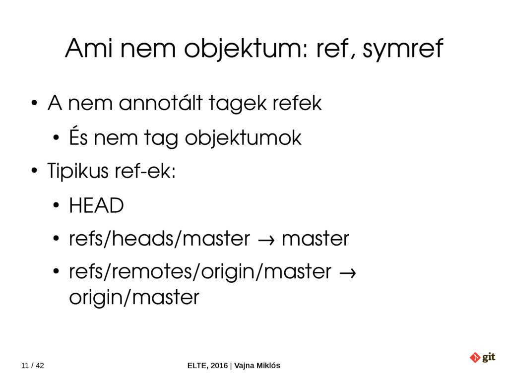 11 / 42 ELTE, 2016   Vajna Miklós Ami nem objek...