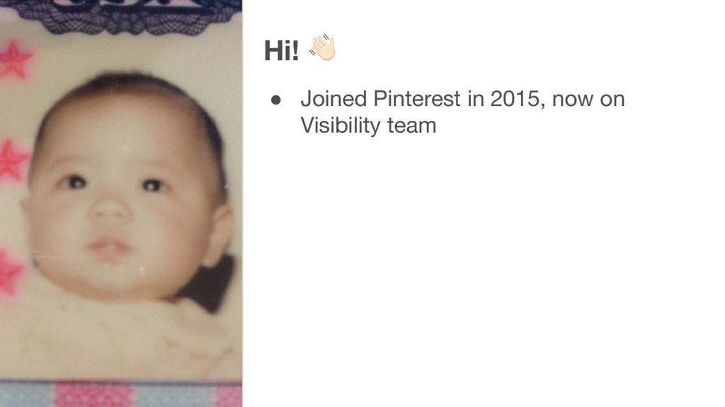 Hi! ● Joined Pinterest in 2015, now on Visibili...