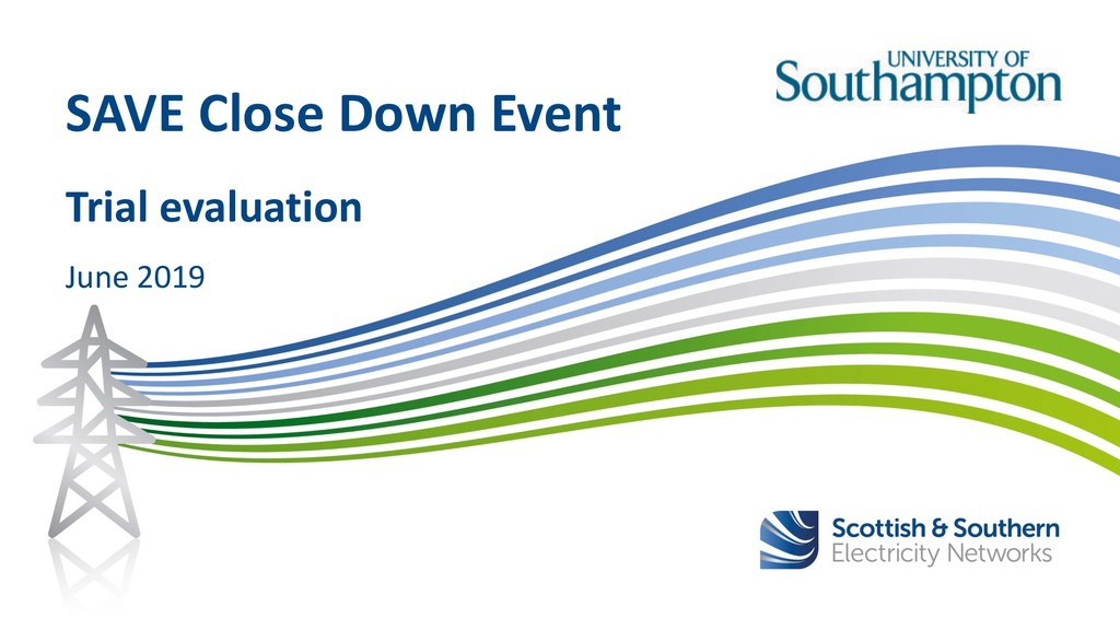 June 2019 SAVE Close Down Event Trial evaluation